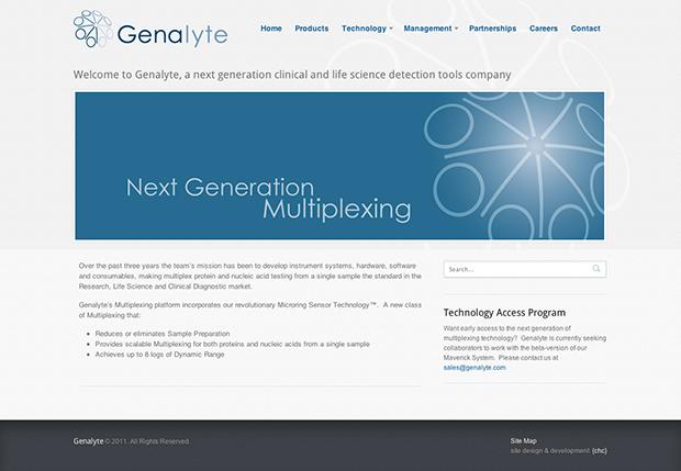 Genalyte Website