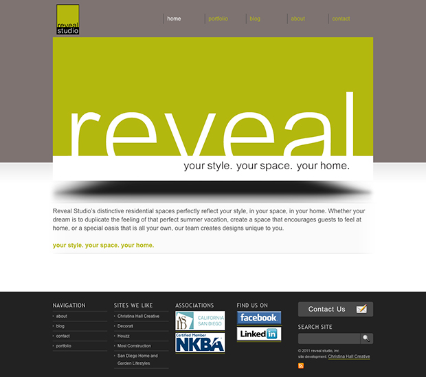 Reveal Studio Inc website