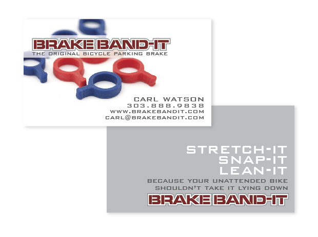 Brakebandit business card