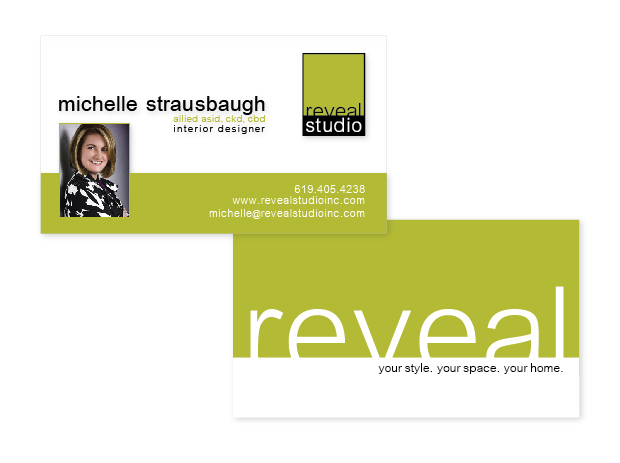Reveal Studio business card